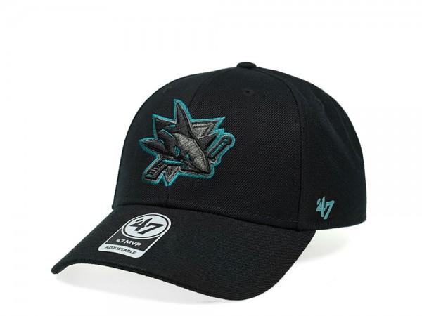 47Brand San Jose Sharks Color Detail MVP Snapback Cap