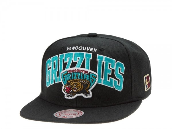 Mitchell & Ness Vancouver Grizzlies Team Arch black Snapback Cap