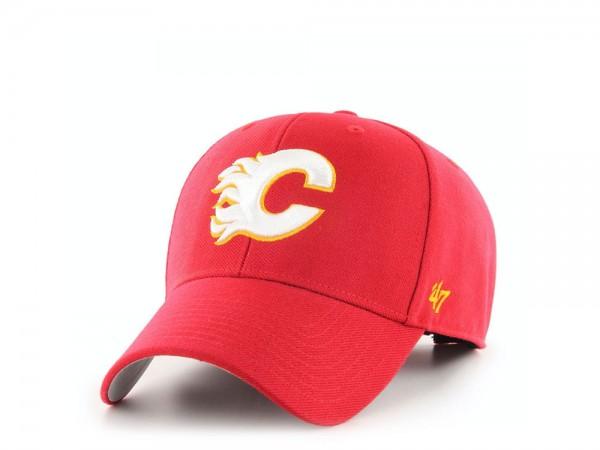 47Brand Calgary Flames Vintage Hockey MVP Strapback Cap