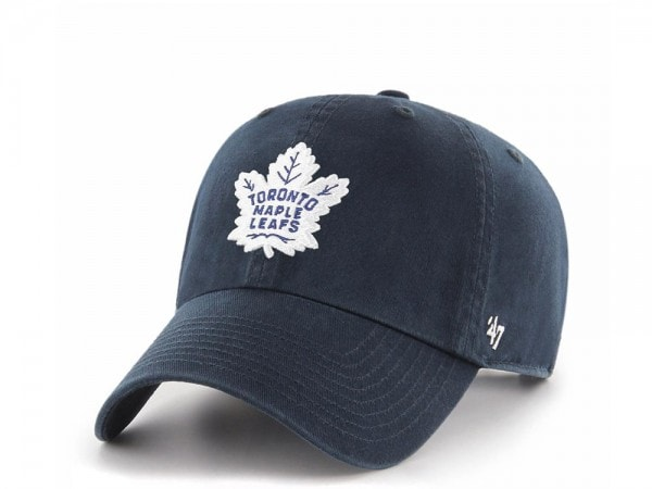 47brand Toronto Maple Leafs  Clean up Strapback Cap