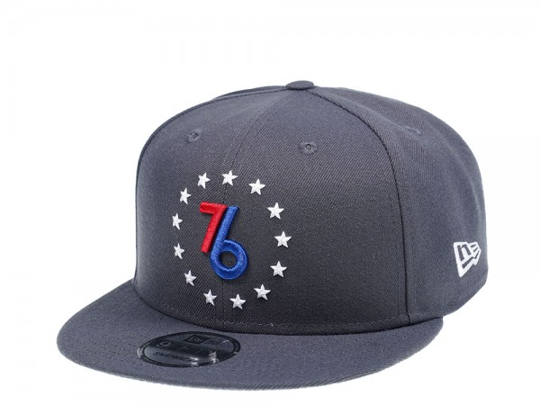 New Era Philadelphia 76ers Graphite Edition 9Fifty Snapback Cap