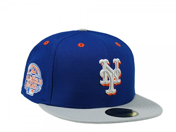 New Era New York Mets All Star Game 2013 Royal Gray 59Fifty Fitted Cap