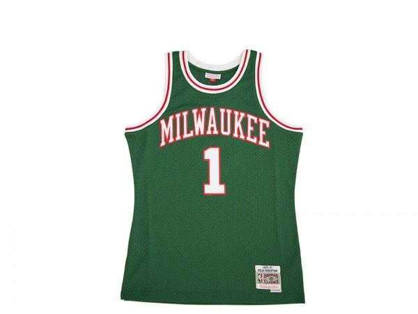 Mitchell & Ness Milwaukee Bucks Oscar Robertson Swingman 1970-71 Jersey