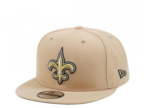 New Era New Orleans Saints Kakhi Edition 9Fifty Snapback Cap