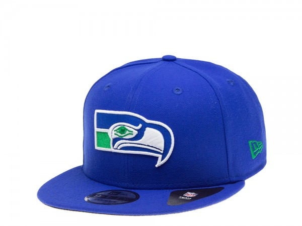 New Era Seattle Seahawks All About Blue Edition 9Fifty Snapback Cap
