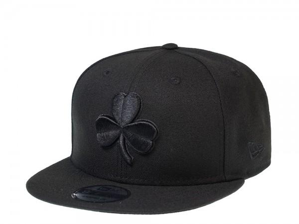 New Era Boston Celtics Black Shamrock Edition 9Fifty Snapback Cap
