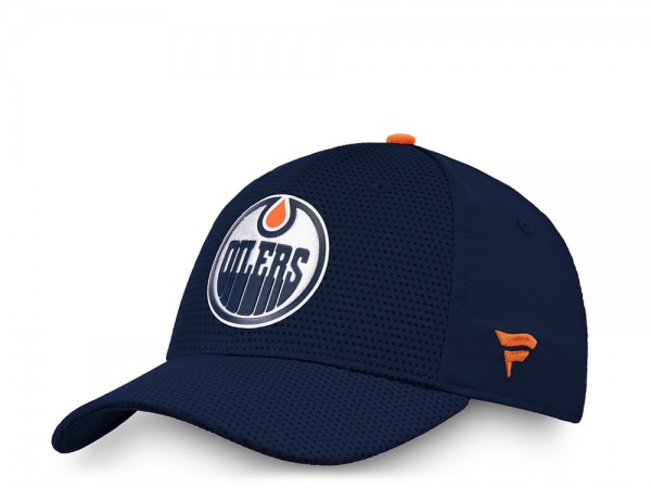 Fanatics Edmonton Oilers Authentic Pro Stretch Fit Cap