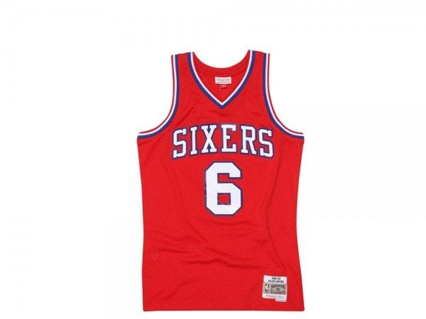 Mitchell & Ness Philadelphia 76ers Trikot - Julius Erving Swingman Jersey