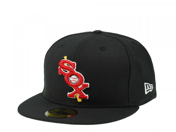New Era Chicago White Sox Throwback Edition 59Fifty Fitted Cap
