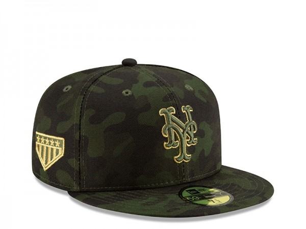 New Era New York Mets Armed Forces Day On Field Fitted 59Fifty Cap