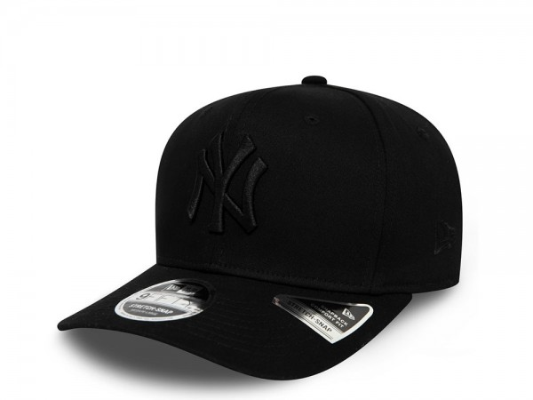 New Era New York Yankees Tonal Black 9Fifty Snapback Cap