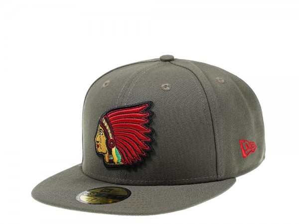 New Era Boston Braves New Olive Edition 59Fifty Fitted Cap