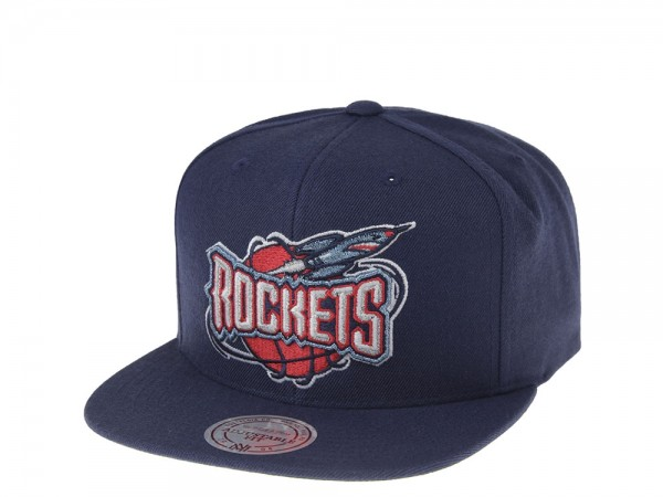 Mitchell & Ness Houston Rockets Classic Snapback Cap
