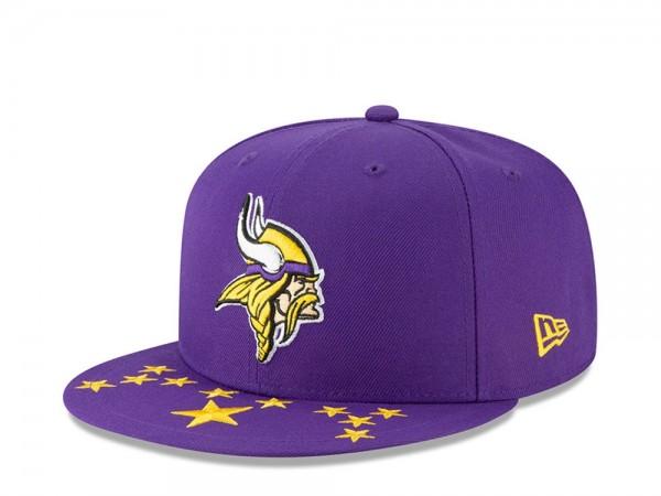 New Era Minnesota Vikings Draft 19 9Fifty Snapback Cap