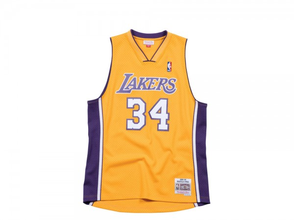 Mitchell & Ness Los Angeles Lakers - Shaquille ONeal Swingman 2.0 1999-00 Jersey