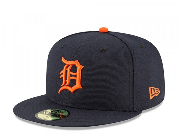 New Era Detroit Tigers Road Authentic On-Field Fitted 59Fifty Cap