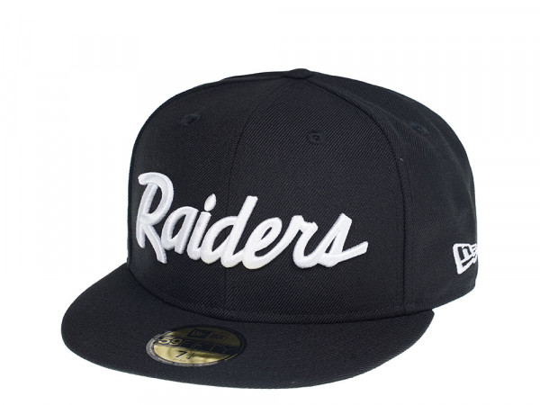 New Era Las Vegas Raiders Script Edition 59Fifty Fitted Cap