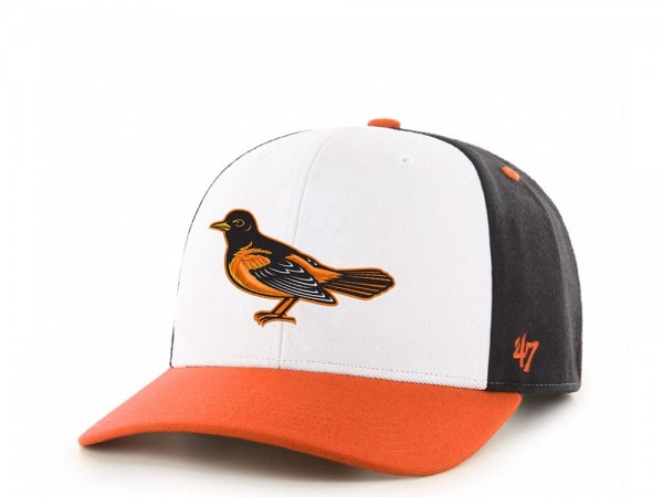 47Brand Baltimore Orioles Cold Zone MVP DP Snapback Cap