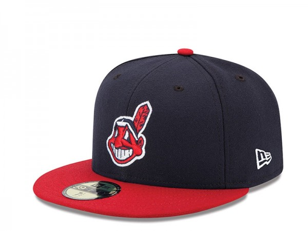 New Era Cleveland Indians Authentic On-Field Fitted 59Fifty Cap