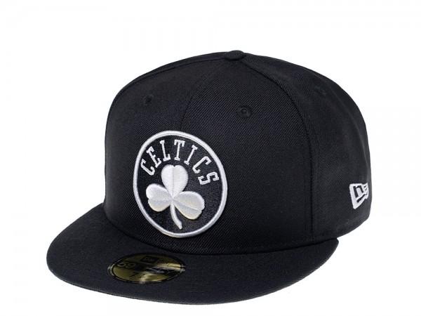 New Era Boston Celtics Gray Edition 59Fifty Fitted Cap