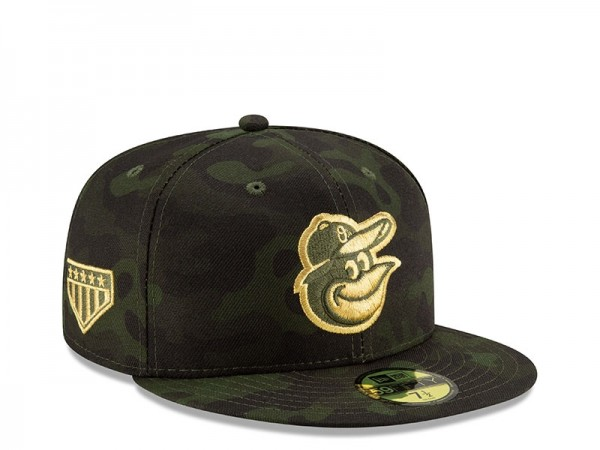 New Era Baltimore Orioles Armed Forces Day On Field Fitted 59Fifty Cap