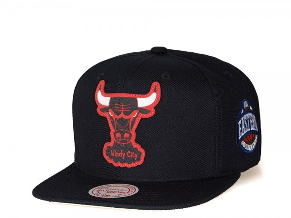 Mitchell & Ness Chicago Bulls Silicon Grass Snapback Cap