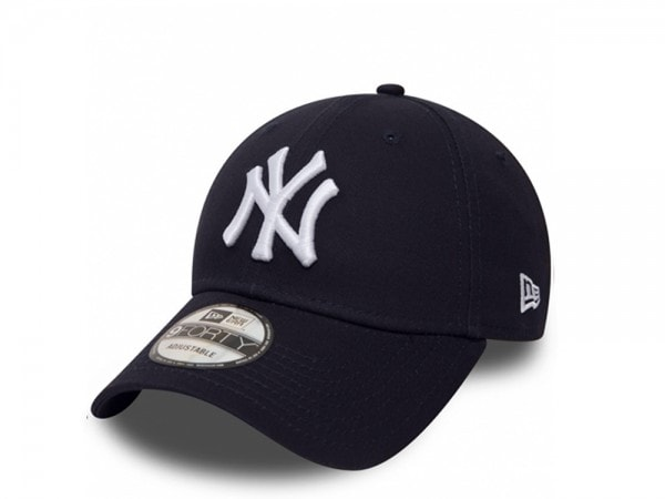 New Era New York Yankees The League 9forty Cap Deep Navy