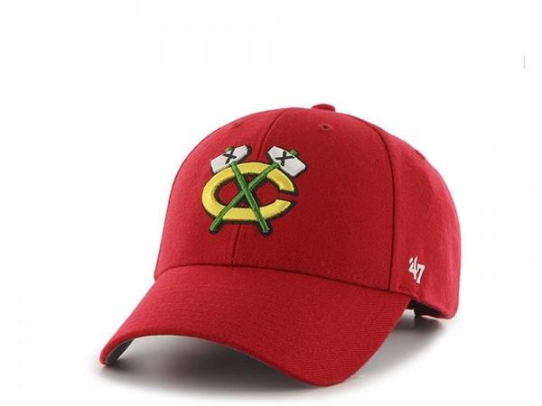 47brand Chicago Blackhawks MVP Snapback Cap