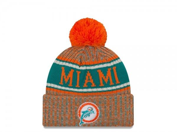 New Era Miami Dolphins Historic Reverse Sideline 2018 Mütze