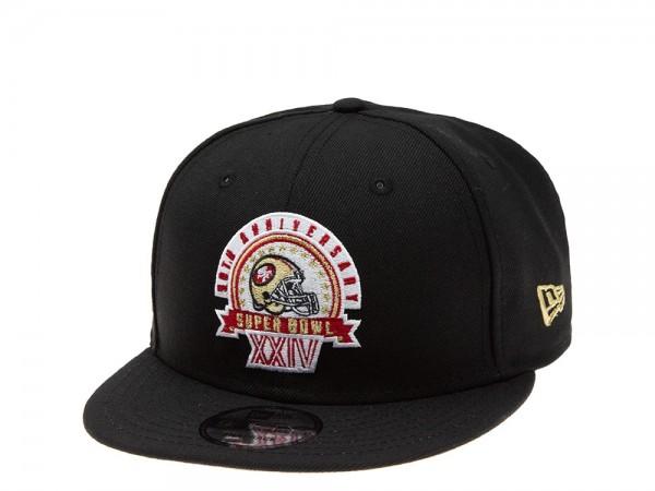 New Era San Francisco 49ers Super Bowl XXIV 9Fifty Snapback Cap