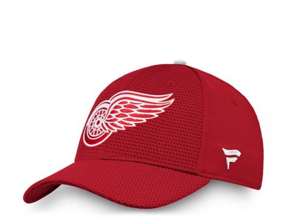 Fanatics Detroit Red Wings Authentic Pro Stretch Fit Cap